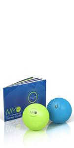Myofoam, massage ball, trigger point massage ball, yoga ball