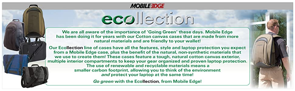Mobile Edge ECOllection Products