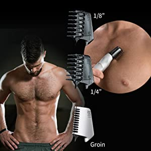Three Precision Attachments for Personalized Grooming
