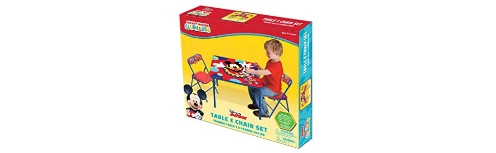 Amazon.com: Disney Mickey Club House Capers Activity Table Set: Toys ...