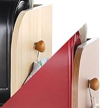 ランドセル 収納 キッズランドセルラック ランドセルらっく ランドセル掛け ラック 棚 キャスター付き 木製 天然木 キッズ家具 きっず家具 こども 子供 SHIRAI 幅62 はば62 62cm