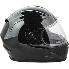 Raider Octane Unisex-Adult Full-Face Motorcycle Helmet Gloss Black, Large