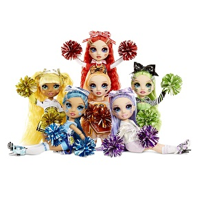 rainbow high cheer; cheer dolls; cheerleader dolls; best toys; rainbow dolls