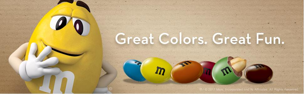 Say hello to your favorite M&M'S Chocolate Candies with natural colors.