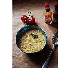 sopa'crema'vegano'levadura'