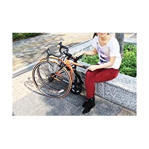 【Amazon.co.jp限定】 フォルダブルロードバイク BACKFLIPPERシリーズ ALACRE 825 700x28C 独自開発折りたたみフレーム採用モデル