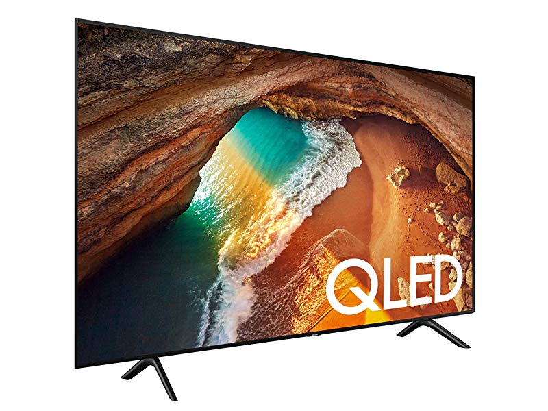 Samsung Qn55q60rafxza Flat 55 Qled 4k Q60 Series 2019 Ultra Hd Smart Tv With Hdr And Alexa Compatibility Electronics