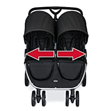 Features Of Britax B-Agile double stroller