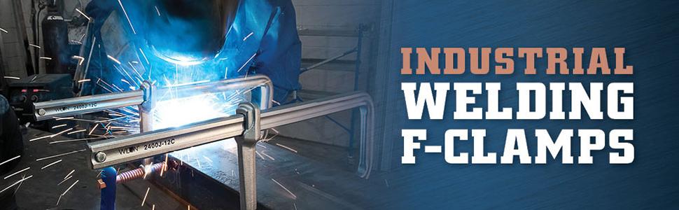 wilton industrial welding f-clamps