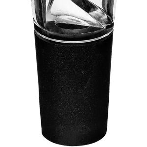 Southern Homewares Wine Aerator Pourer Spout Dispenser, Black
