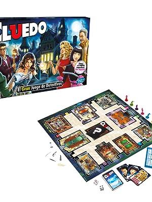 Cluedo Hasbro Gaming Hasbro 38712546 Amazon Es Juguetes Y Juegos