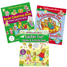Berenstain Bears; Berenstain; Living Lights; morals and lessons; pictures books for kids; character - The Berenstain Bears And The Joy Of Giving