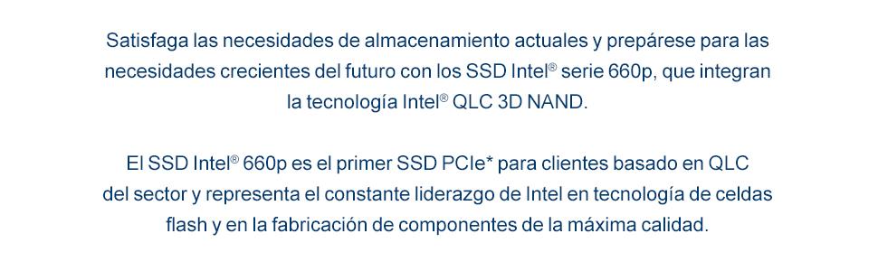 Intel ® SSDPEKNW020T8X1 Intel SSD 660P Series: Amazon.es: Informática