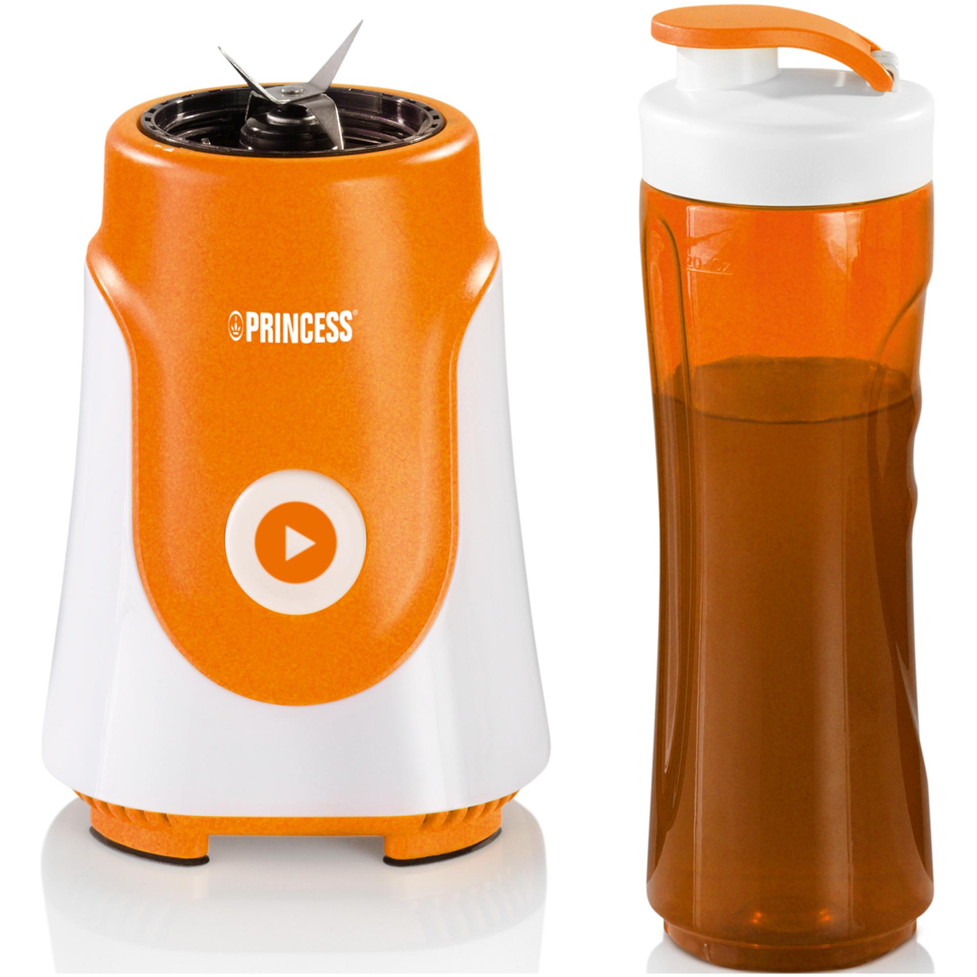 Vaso de Tritan sin BPA duradero y resistente. Junto con la batidora personal Princess ...