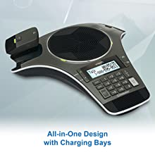 with charging bays