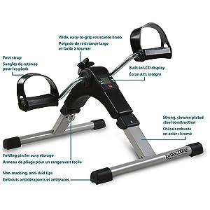 ProActive Stationary Digital Pedal Exerciser