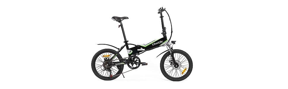 Bicicleta electrica plegable mod traveller