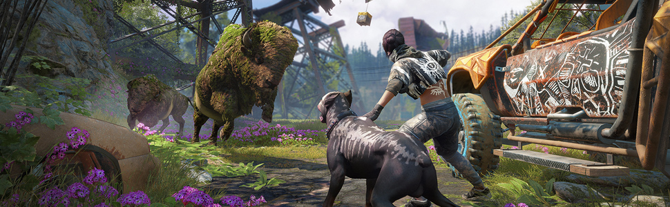 Amazon Com Far Cry New Dawn Playstation 4 Standard Edition