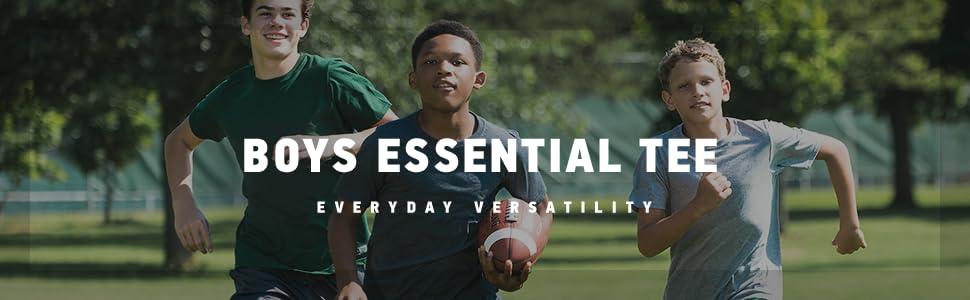 b3cf6922 Amazon.com: Russell Athletic Big Boys' Essential Short Sleeve Tee ...