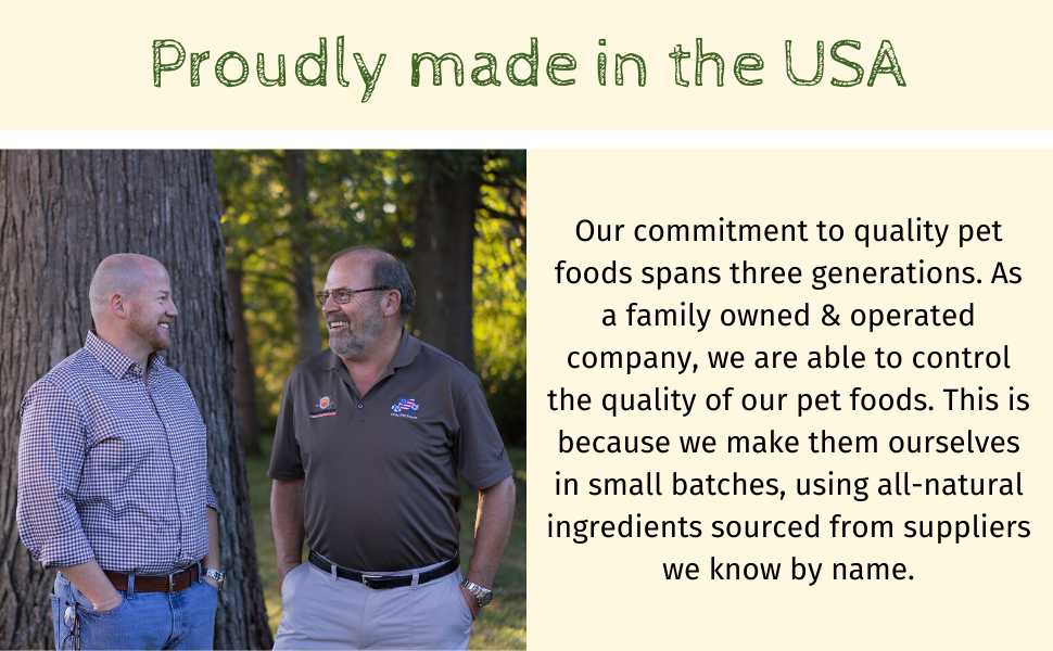 Blackwood Pet Food Made in teh USA
