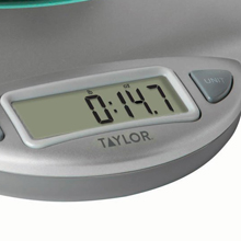 digital kitchen scale, taylor, best, accurate, cooking, baking, weight, kitchen, timer, thermometer
