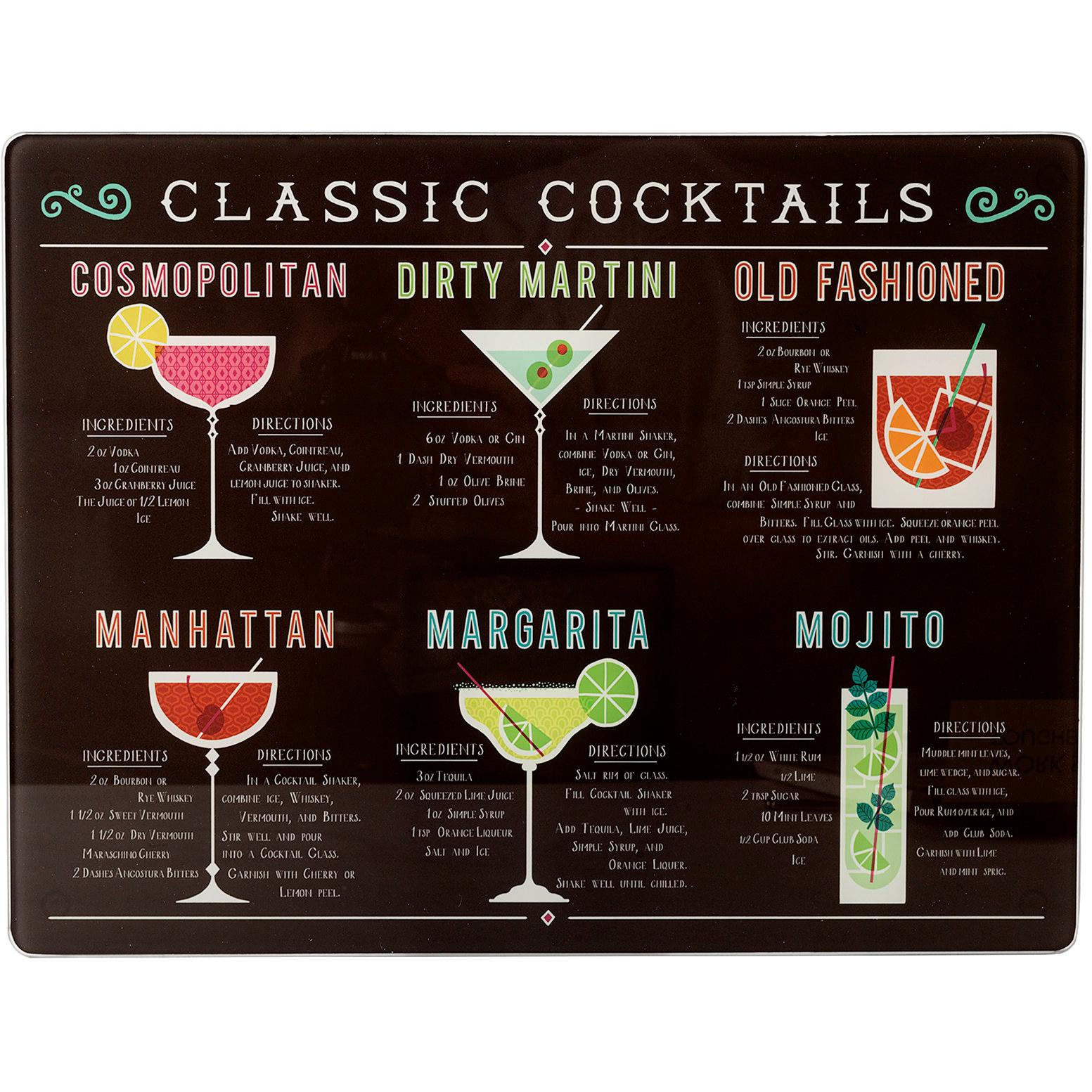 the martini a postcard book 28 classic cocktails with recipes