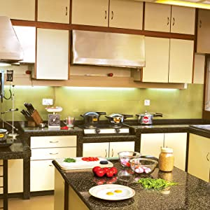 CB15, Contura Black, Test Kitchen