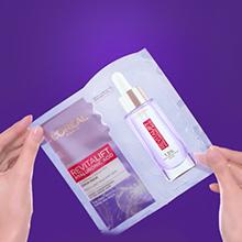 c. How To Apply L'Oréal Serum Sheet Mask – Mix - Revitalift Serum Sheet Mask