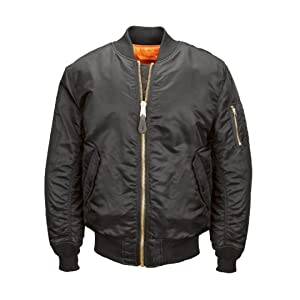 Alpha Industries Men's MA 1 Flight Bomber Jacket