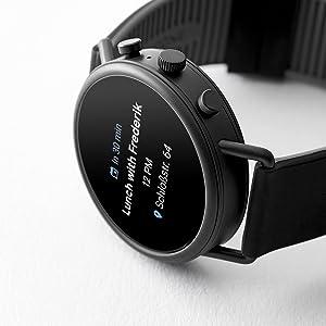 touchscreen smartwatch, touch screen smart watch, heart rate watch, swimproof watch, display watch