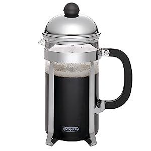 BonJour, french press, coffee, brew, espresso, borosilicate glass, beaker, bew