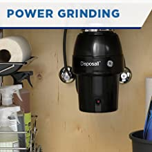 Power grinding 1/2-HP motor