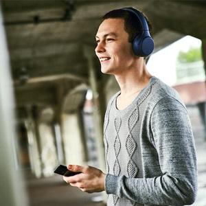 Headphone sem fio Bluetooth WH-XB700