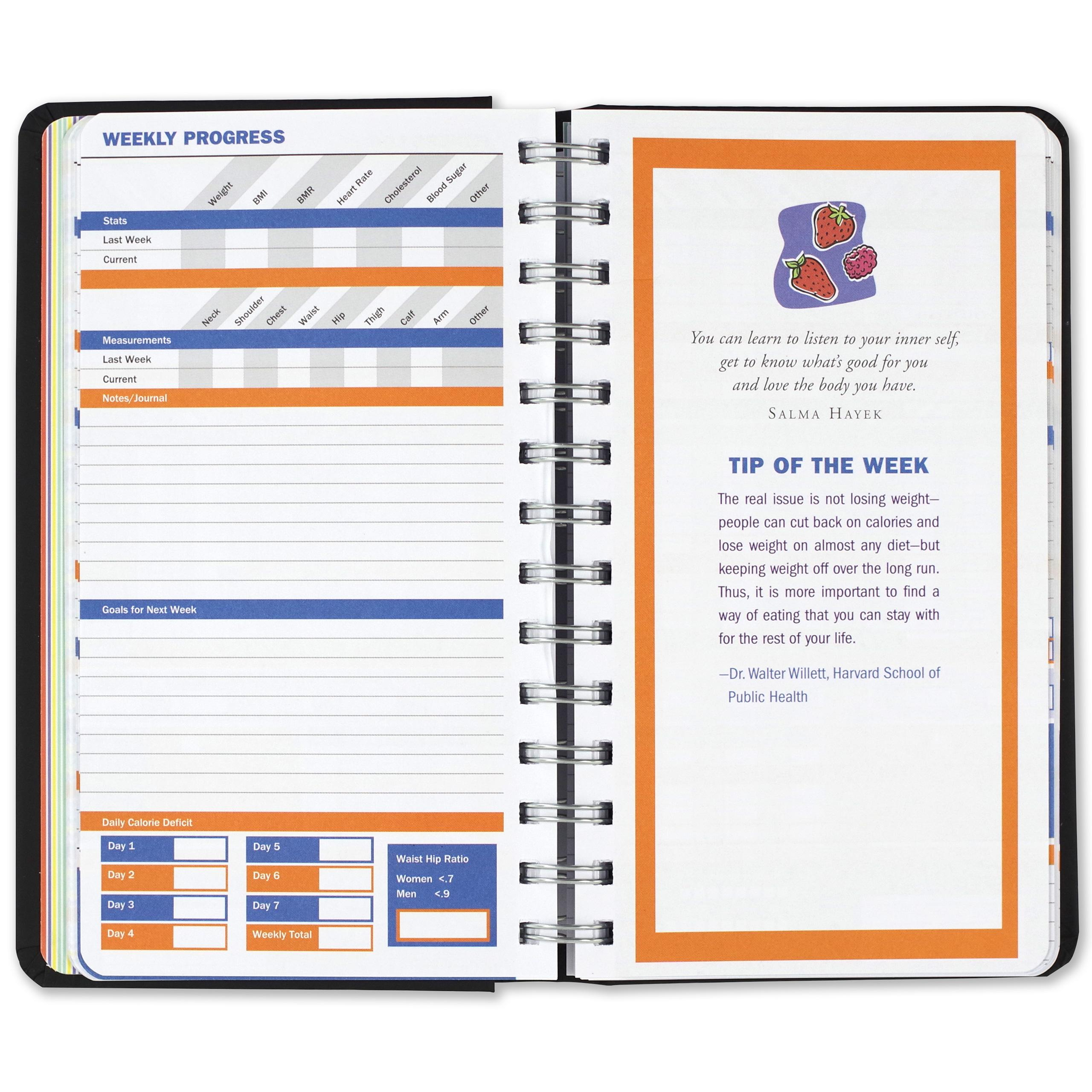 diet  u0026 fitness journal  your personal guide to optimum health  diary  exercise   little black