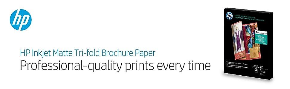 tri fold brochure paper