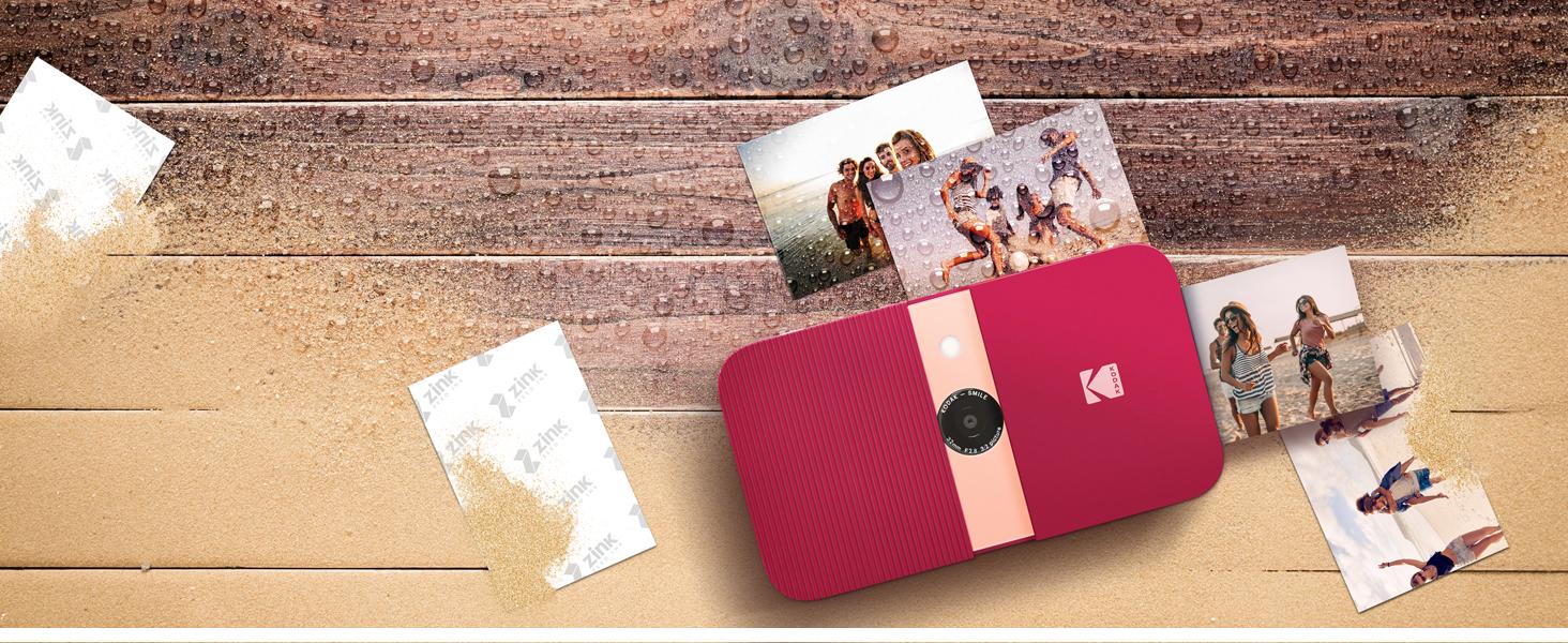 Kodak Smile Sofortdruck Digitalkamera Bilderrahmen Kamera