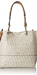 Calvin Klein Reversible N s Tote - Bolsa al hombro para mujer ... 995fbba256