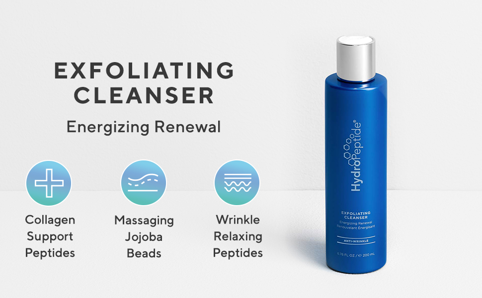 Hydropeptide Exfoliating Cleanser