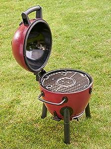 portable, kamado, grill