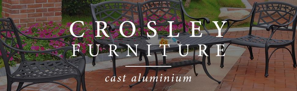 Crosley Furniture Cast Aluminum
