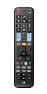 One For All URC1918 - Mando a Distancia de reemplazo para Televisores Telefunken – Control Remoto Universal para Todo Tipo de TVs de la Marca Telefunken: Amazon.es: Electrónica