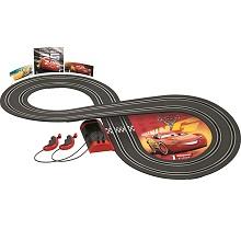Carrera First Slot Car Race Track Set 20063010 Disney Pixar Cars Lightning McQueen Dinoco Cruz