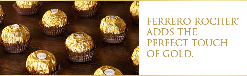 Ferrero Rocher Praline Chocolate Box Gift Share Best Gold Perfect Celebration Occasion