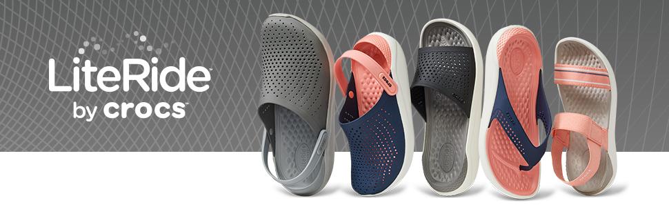 LiteRide Crocs Clogs Sandals Flips Slides