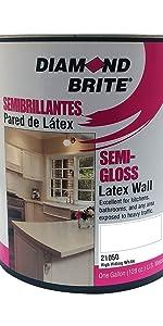 Diamond Brite Semi Gloss Latex Paint