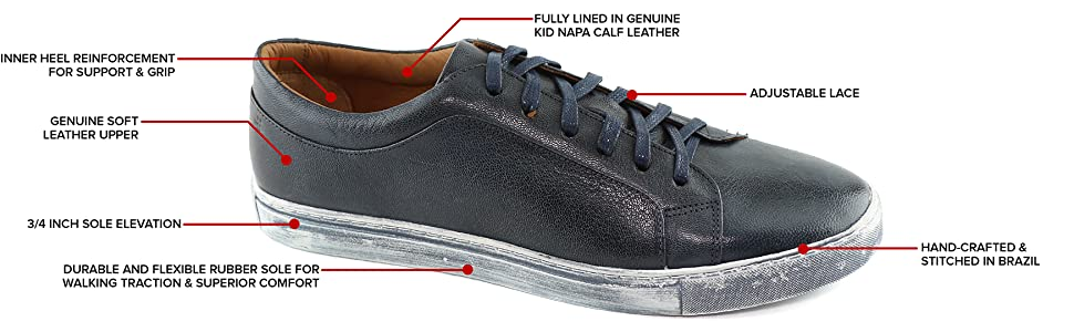 Sneaker, Leather, Comfort, Handcrafted, Brothers United, New York