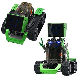 Robot building kit for kids