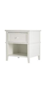 nightstand, storage, evolur, dream on me, parker
