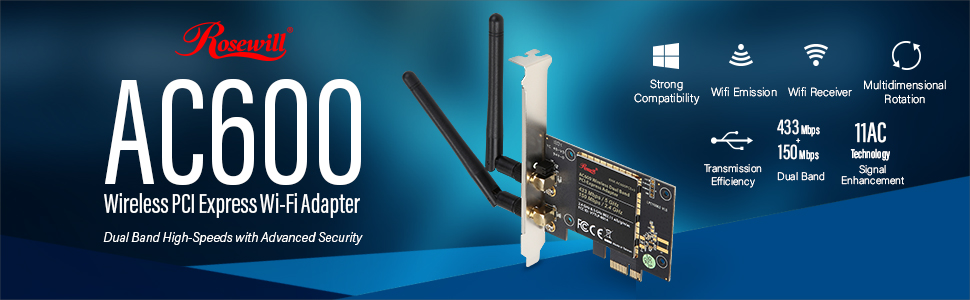 Rosewill RNX-N150PC Wireless Adapter Ralink WLAN Windows Vista 32-BIT
