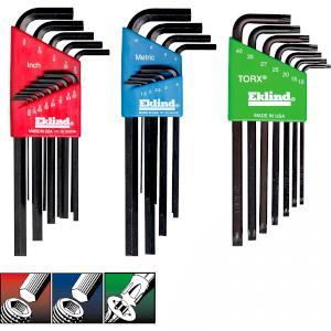 Eklind 16827 T27 Bright Short Series Torx L-Key Pack of 10